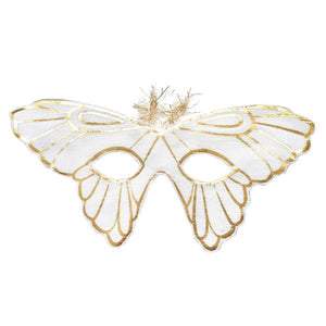 Butterfly Mask- Silver/Gold