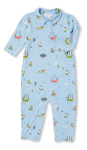 LITTLE VIKING POLO ROMPER