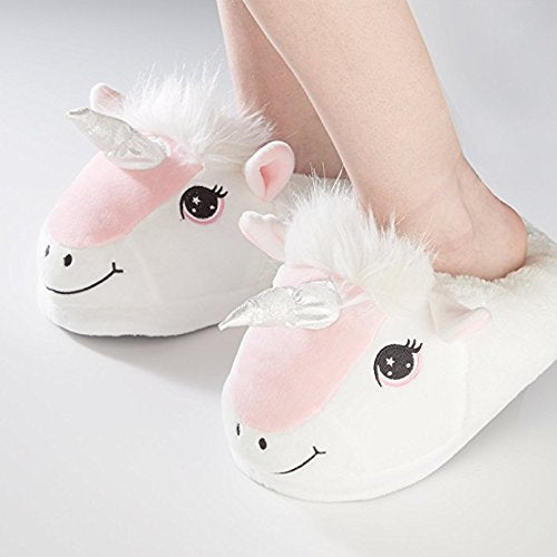 Happy Unicorn Soft Children Slippers