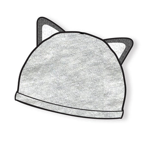 FOX EAR BEANIE GREY