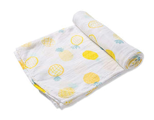 SWADDLE BLANKET- PINEAPPLE