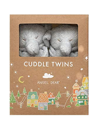CUDDLE TWINS- GREY ELEPHANT