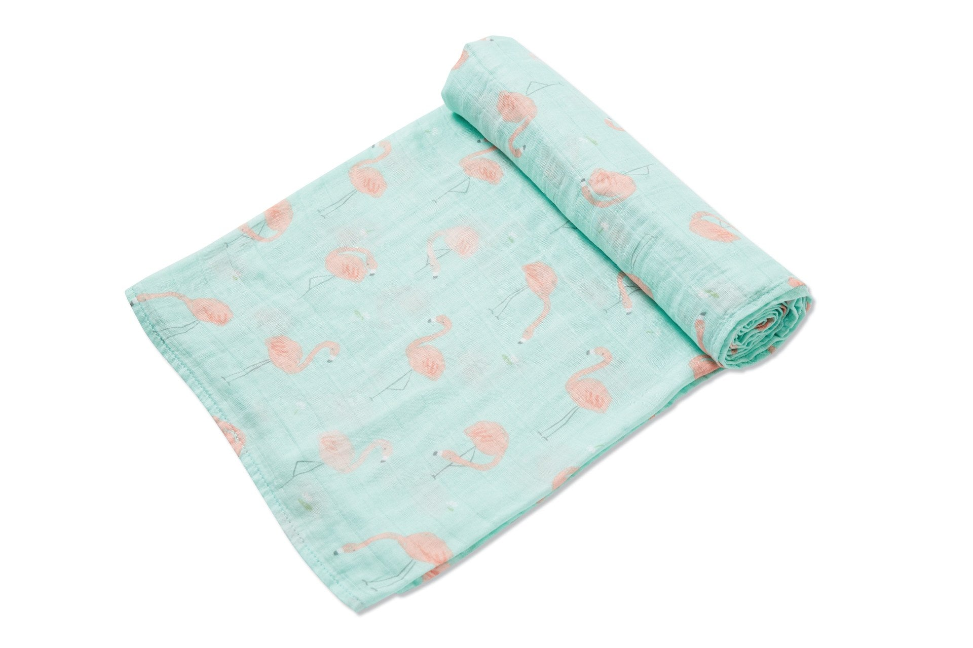 Flamingo - Muslin Swaddle Blanket