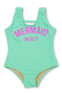 Mermaid On Duty Mint - One Piece