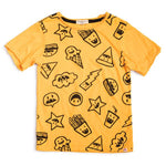 LUNCH TIME TEE - Gold Fusion