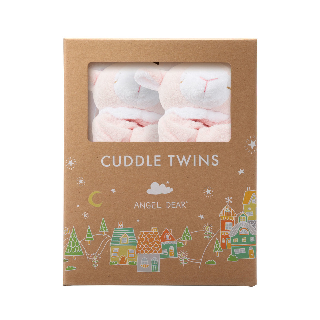 CUDDLE TWINS- PINK LAMB