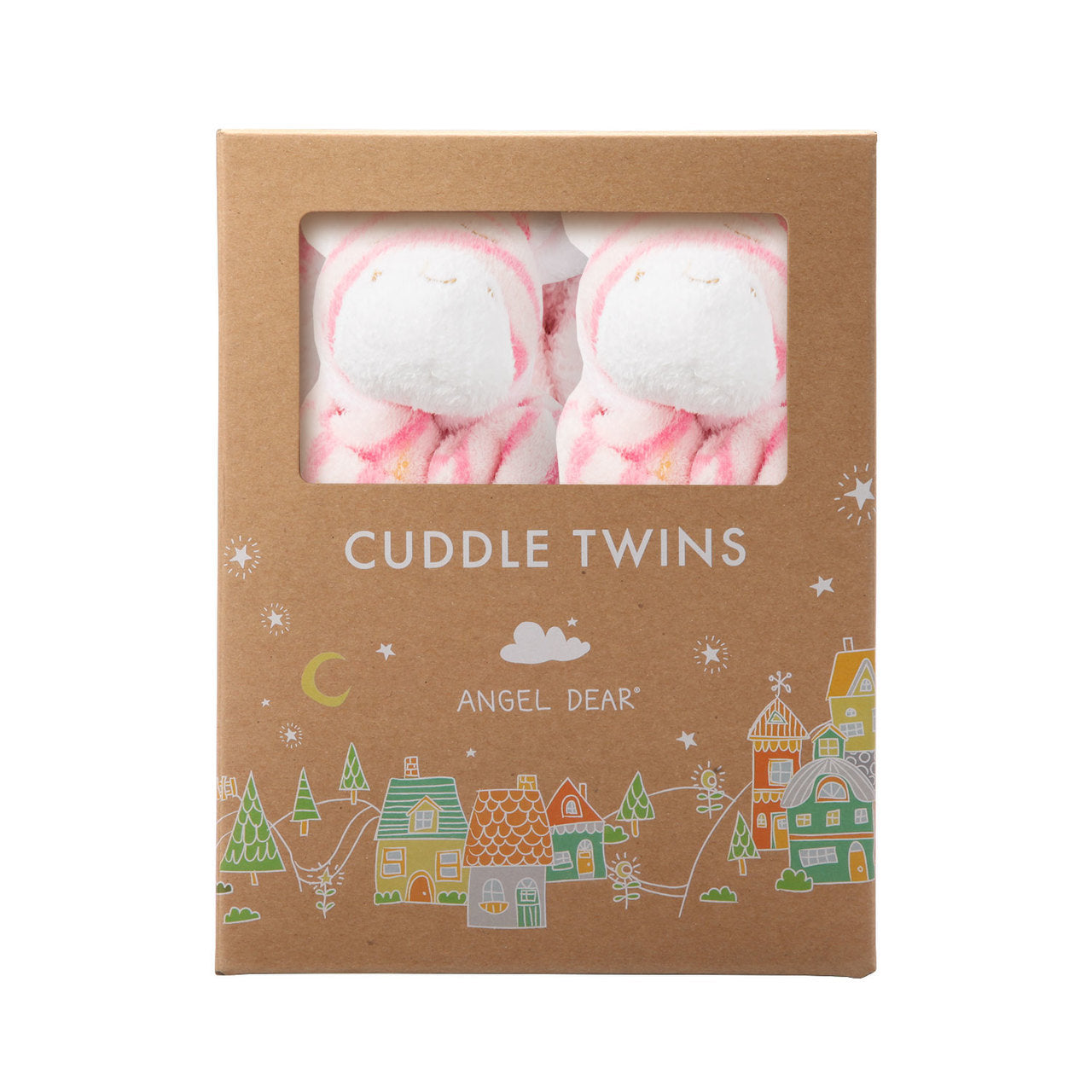 CUDDLE TWINS - PINK ZEBRA