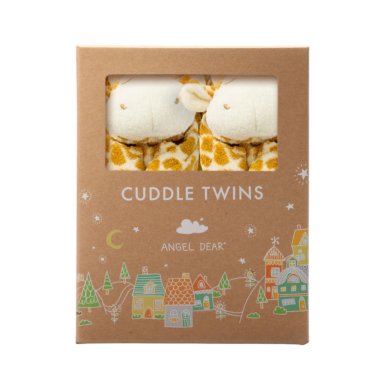 CUDDLE TWINS- TAN GIRAFFE
