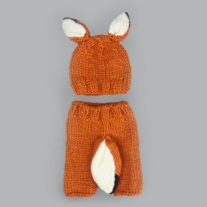 Rusty Fox Newborn Knit Set