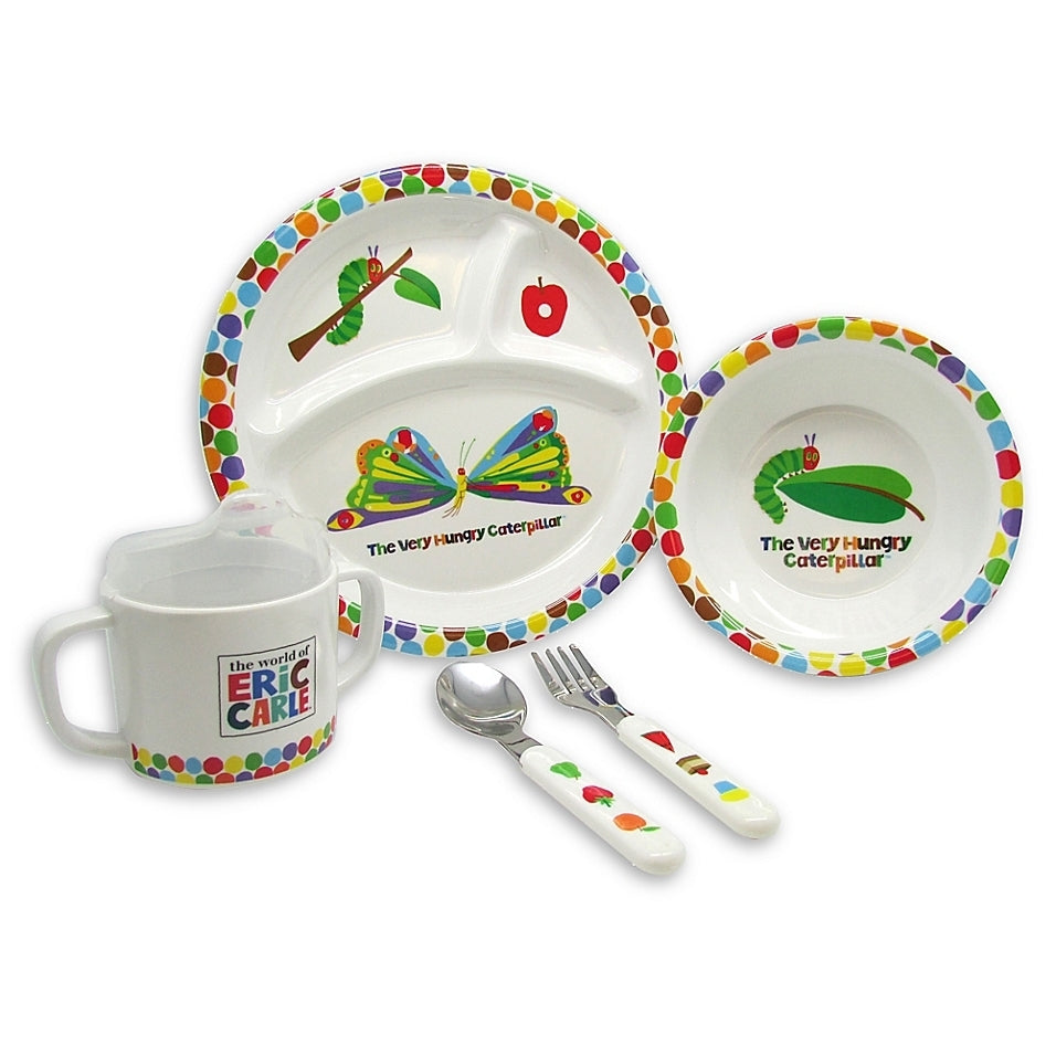 The Very Hungry Caterpillar 5 Piece Dish Set