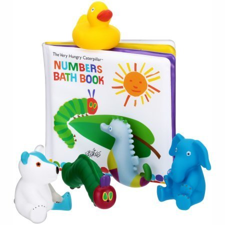 The Very Hungry Caterpillar Bath Book