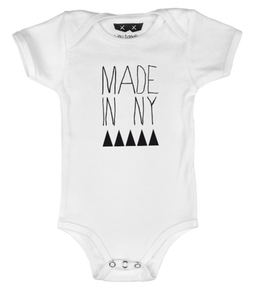 Made In NY Onesie