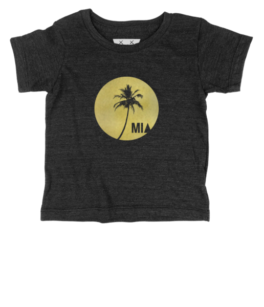 Mia Sunset Palm Tee