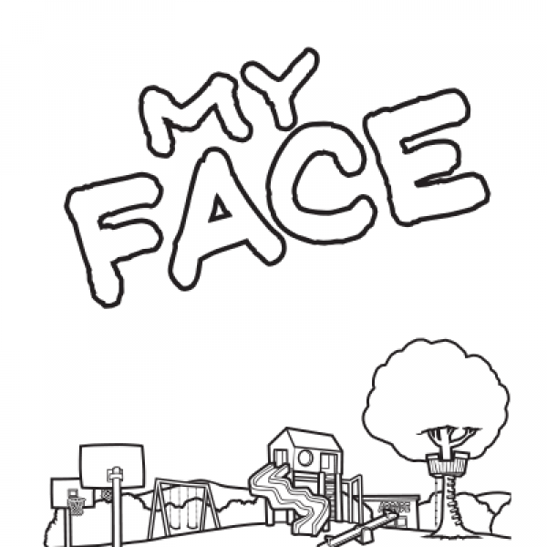 MY FACE COLORING BOOK