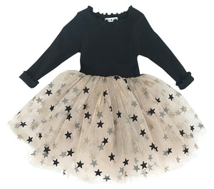 Mia Tutu Dress - Black