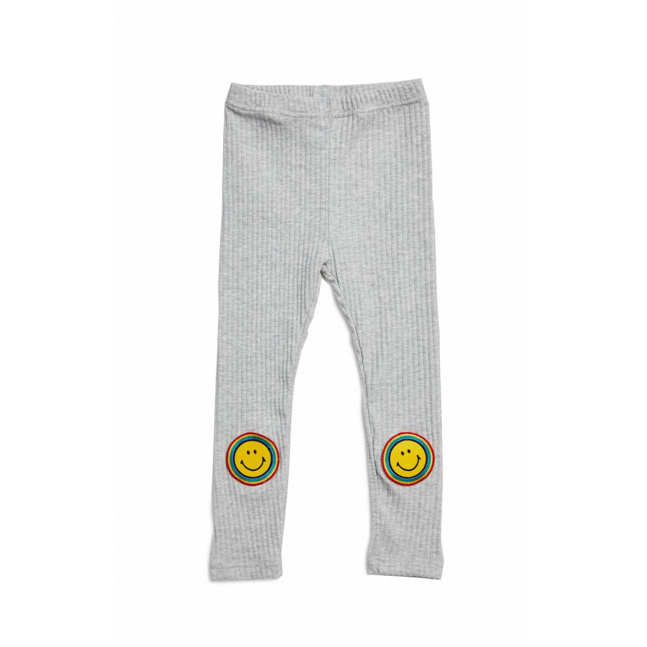 Smile Leggings - Gray