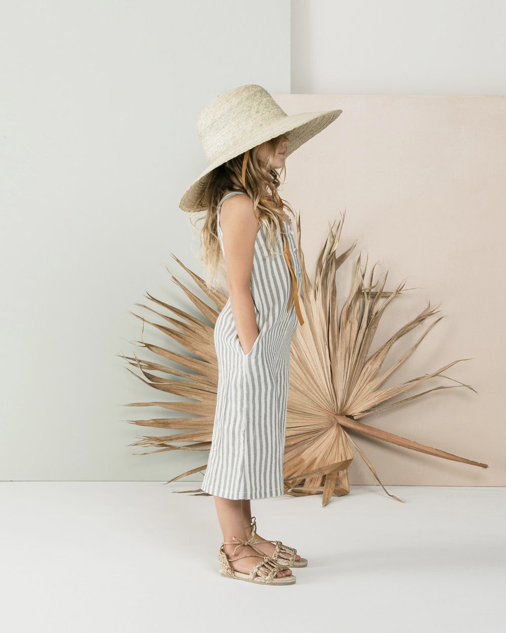 Storm Stripe Bridgette Jumpsuit