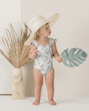 Tropical Frill Onepiece