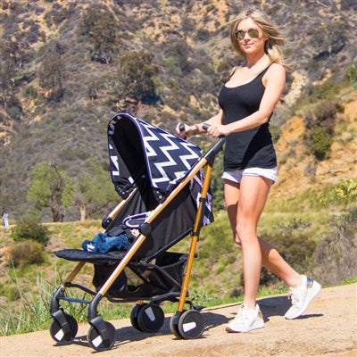 US 51 Black & Chevron Stroller