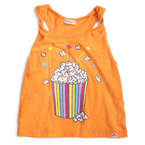 TWISTED STRAP TANK - POPCORN Speckled Citrus