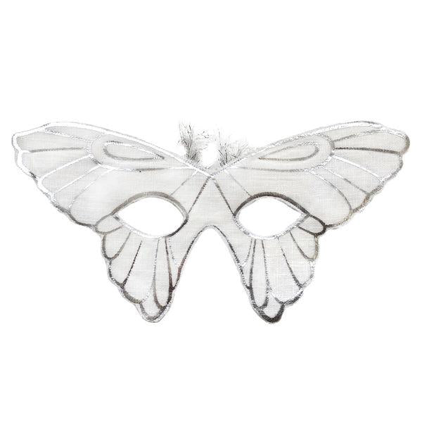Butterfly Mask-Silver/Oyster