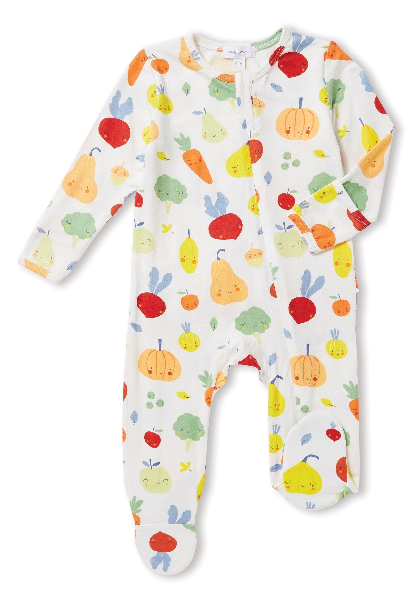 VEGGIE ZIPPER FOOTIE
