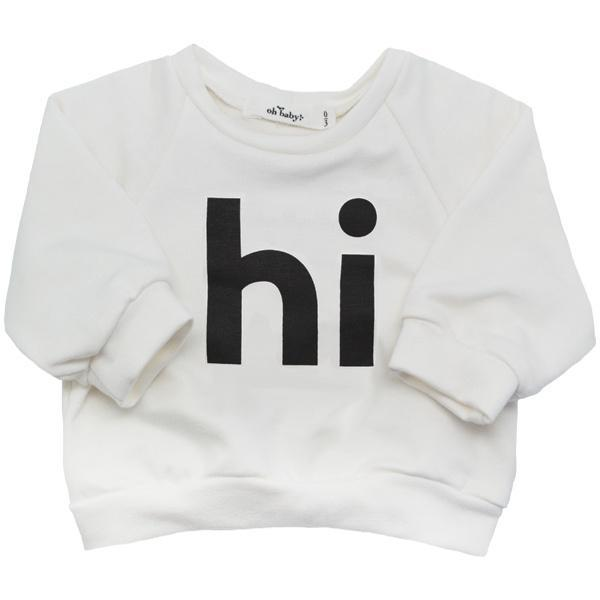 "SoHo Boxy ""hi"" Black Ink"