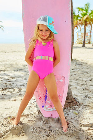 The Jade 1 Piece Baby - Pink Candy