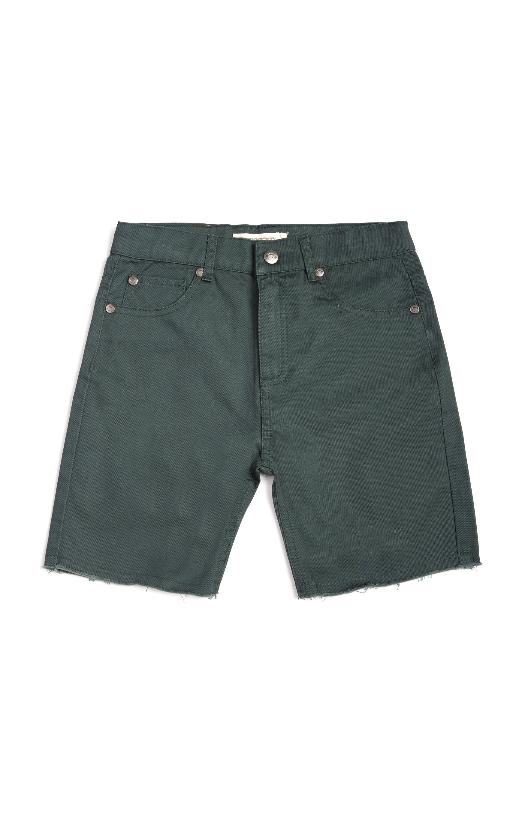 PUNK SHORTS Duck Green
