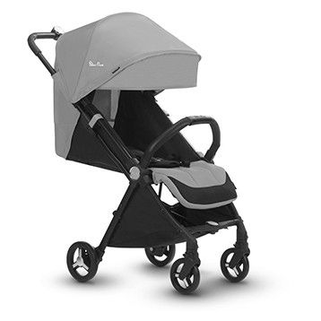 Silver Cross Jet Ultra Compact Stroller- Sterling Silver