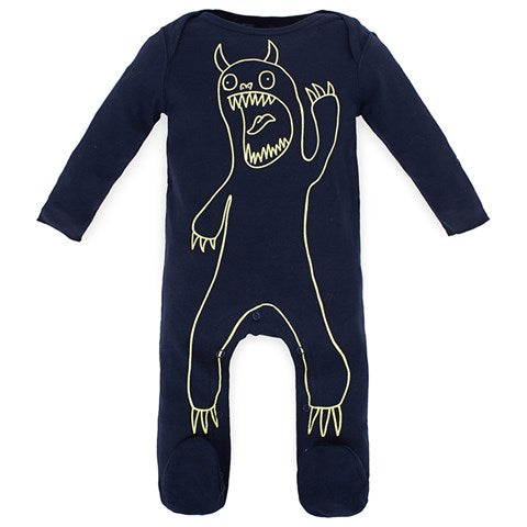 Baby Boy Monster Footie