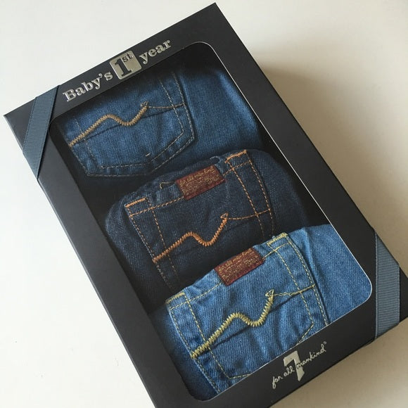 Baby's 1st Year Denim Set