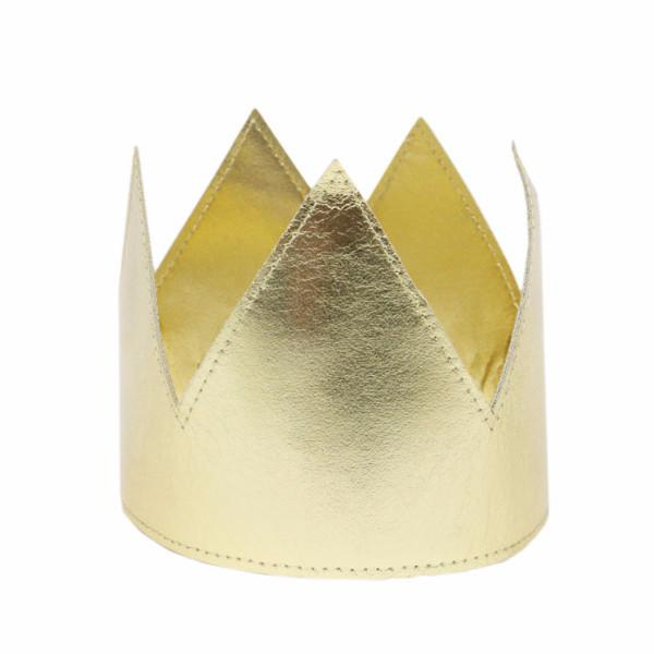 Gold Metallic Crown