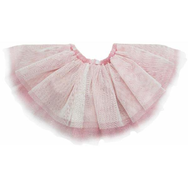 Glinda Prima Skirt - Ivory/Gold - Blush