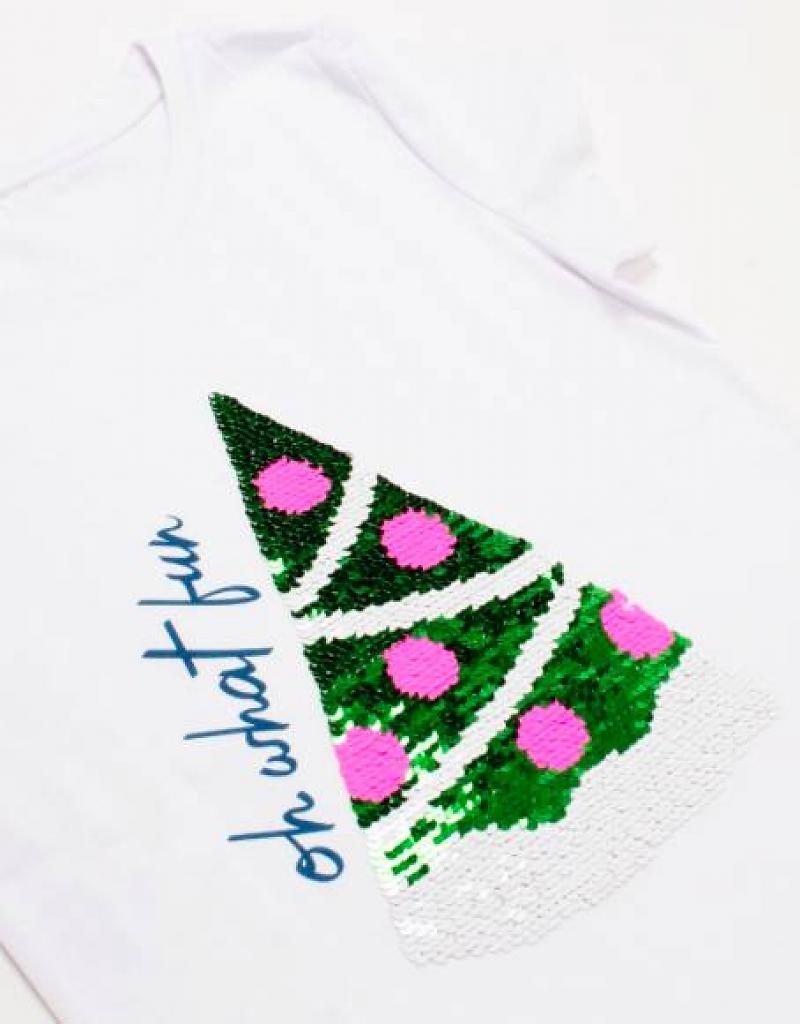 Magic Two-Way Sequins T Shirt