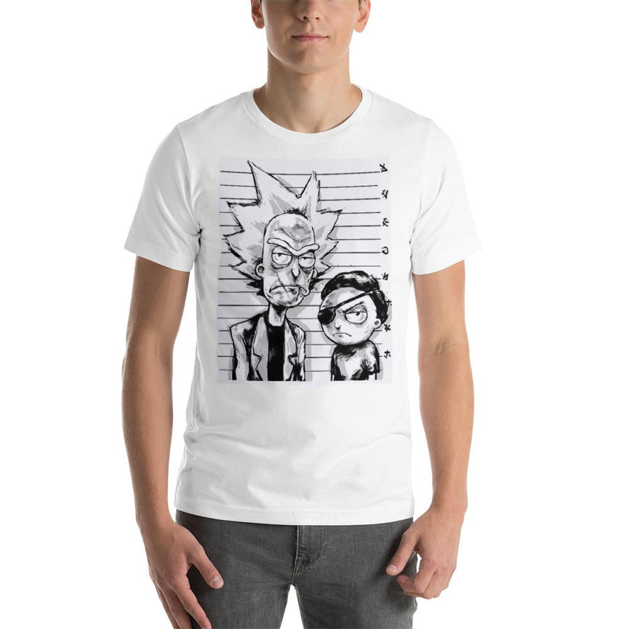 Evil Rick and Evil Morty t shirt