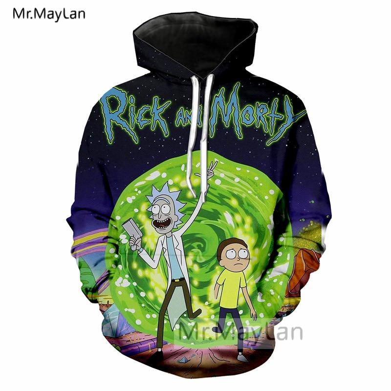 Rick and Morty Interdimensional Portal Hoodie