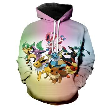 Eevee, Umbreon, Jolteon, Vaparion, Vaporion Hoodie | Pokemon Hoodie