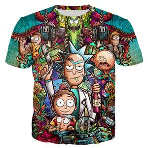Rick and Morty T Shirt - Drunk Rick With a Gun