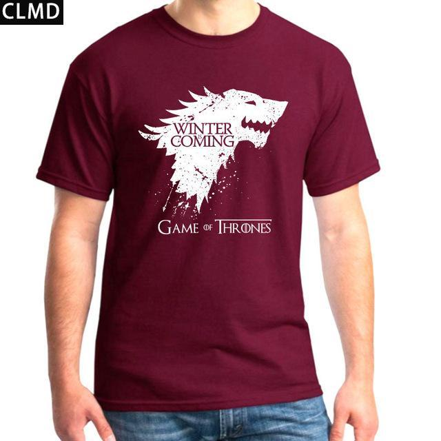 Game of Thrones T Shirt - Winter is Coming