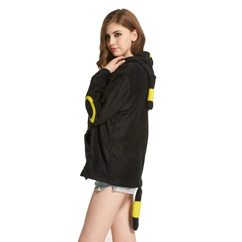 Umbreon Hoodie With Ears and Tail  14e486a7aa