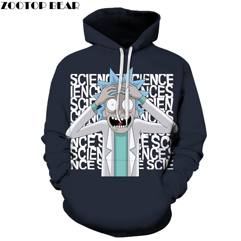 Rick and Morty Mad Sciencist Hoodie