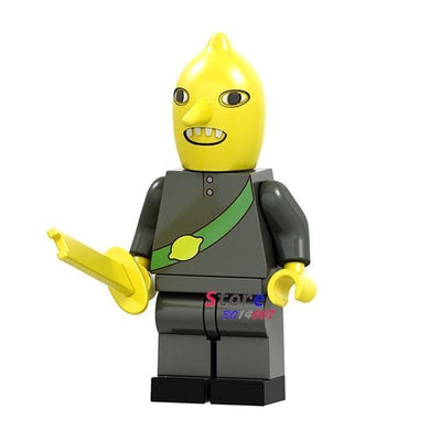 Adventure Time Toy Earl Lemongrab
