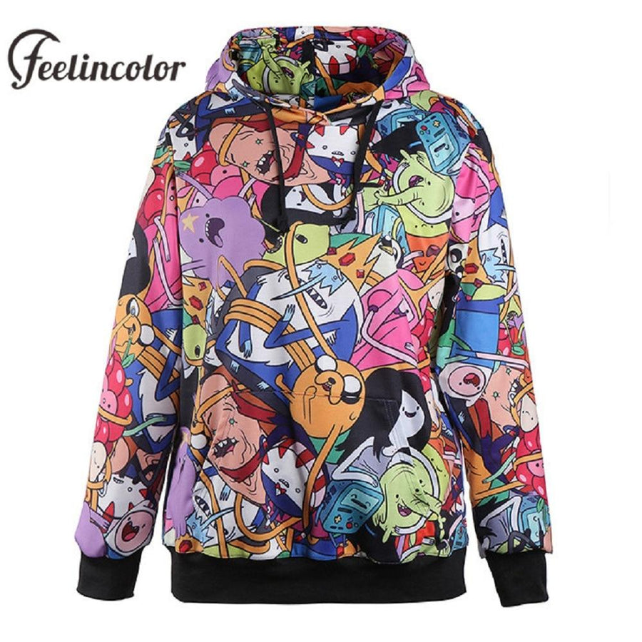 Adventure Time Hoodie featuring all main characters