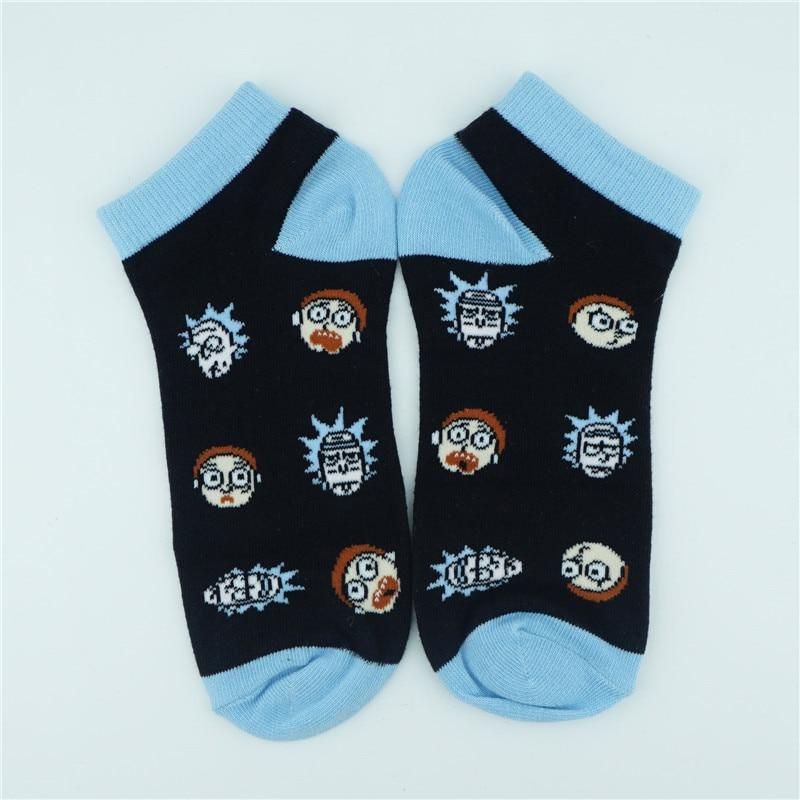Rick and Morty Socks featuring Rick and Morty