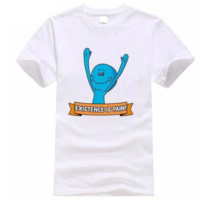 White Mr Meeseeks T Shirt