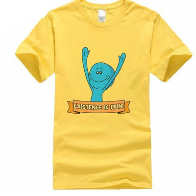 Yellow Mr Meeseeks T Shirt