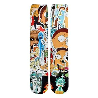 Whacky Rick and Morty Socks