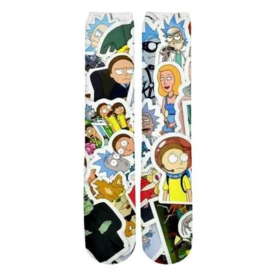 White Spaceman Morty, Summer Rick and Morty Socks | Rick and Morty Socks