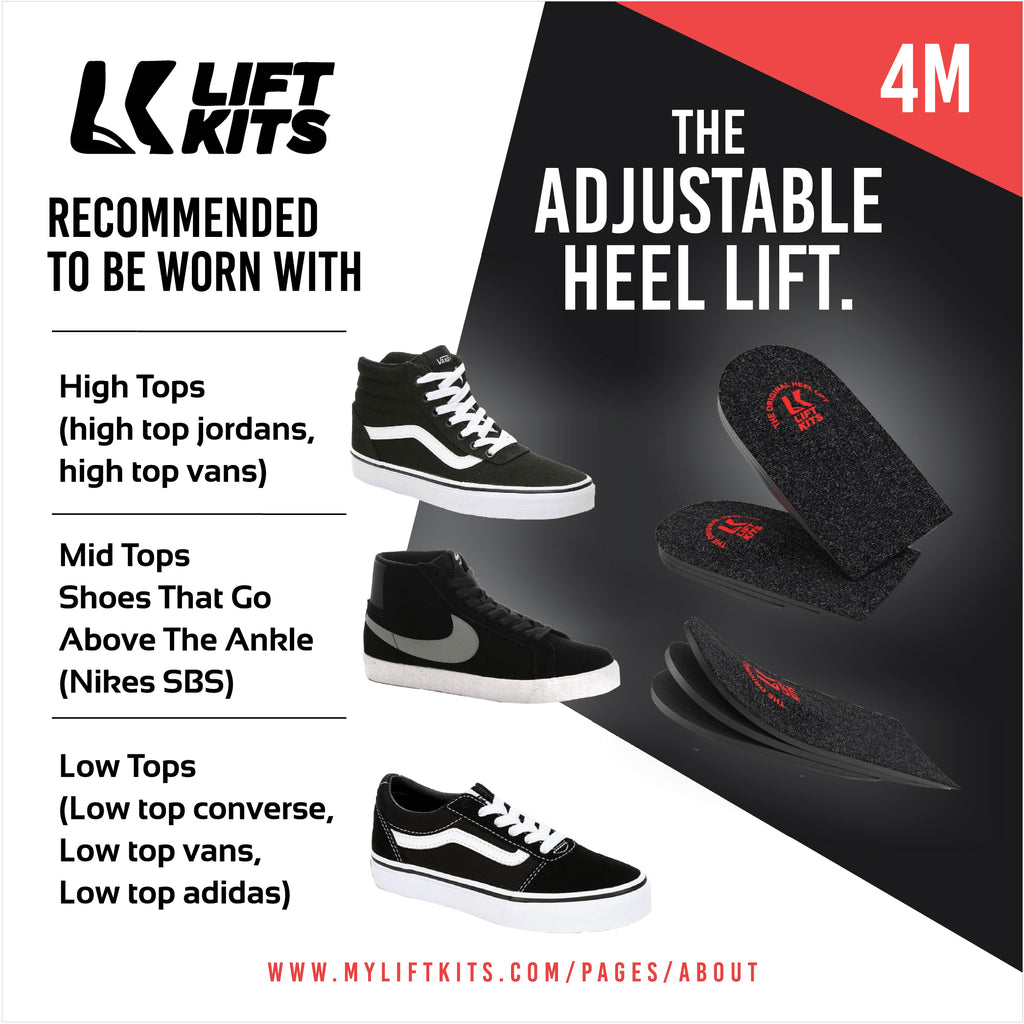 THE ADJUSTABLE HEEL LIFT